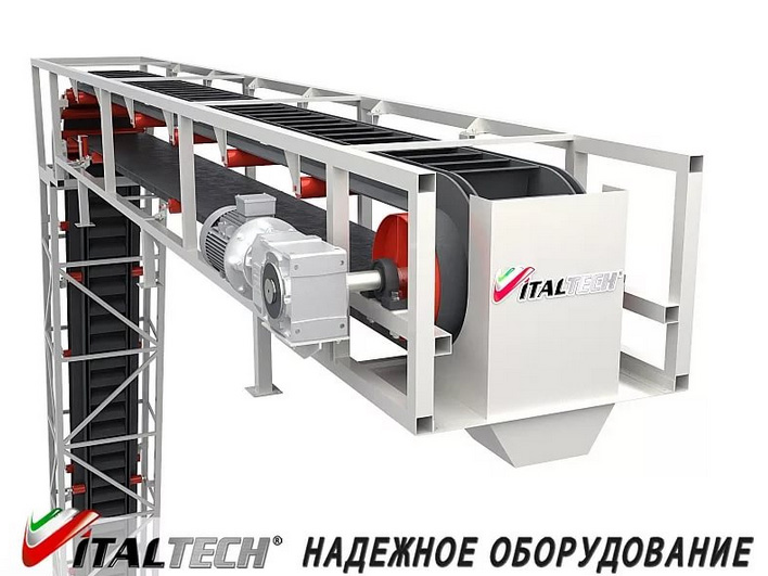 Конвейер крутонаклонные транспортер т3 двигатели от