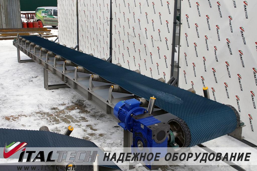Транспортер ленточный желобчатого типа ЛК Ж 400