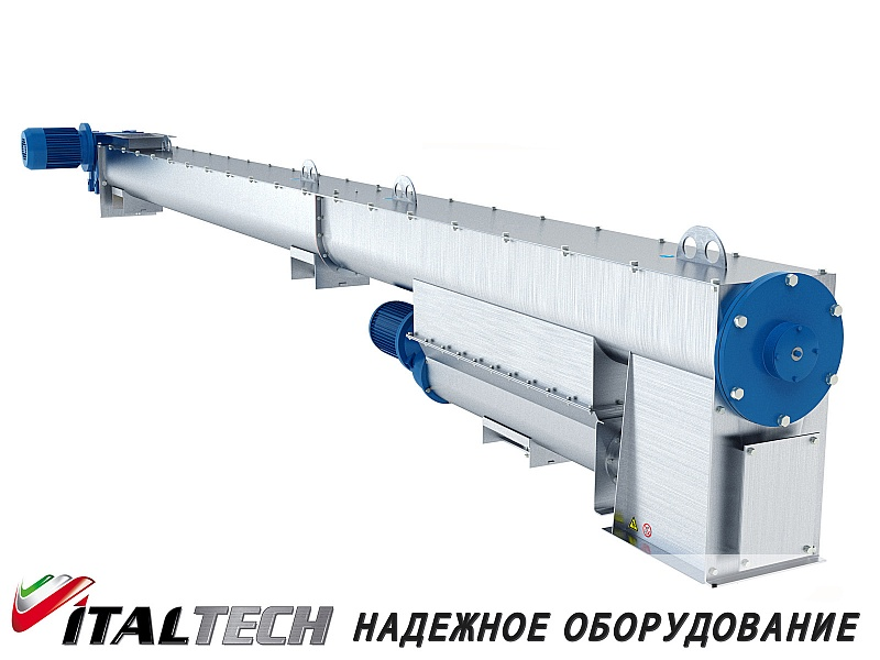 Транспортер лотковый шнековый дозаторы транспортеры